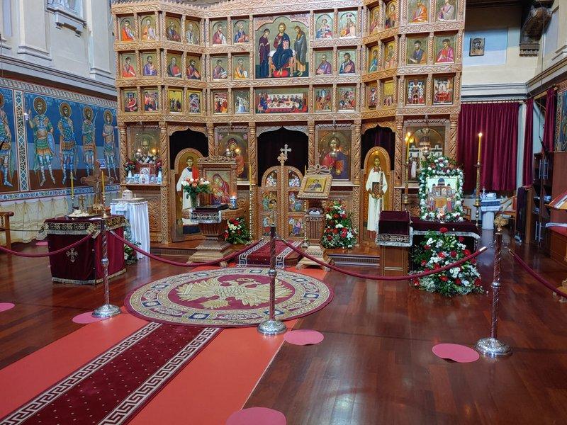 """Hramul Parohiei """"Înălțarea Sfintei Cruci – Torino II"""""""