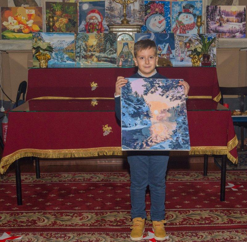 Scoala Parohială - Proiectul: Micul pictor - totul are un început