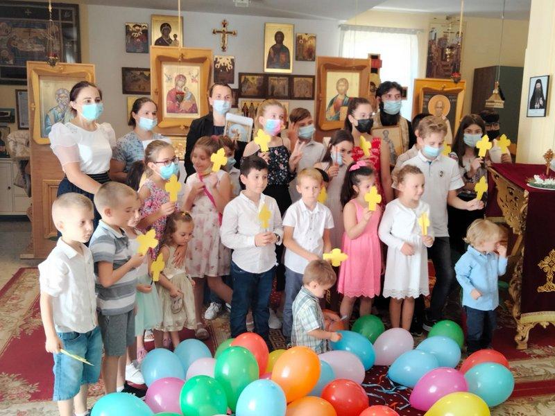 """Început de an școlar catehetic în Parohia """"Sfântul Ierarh Grigorie cel Mare"""", Roma - Torre Angela"""